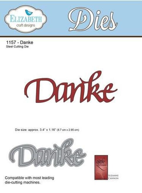 Quietfire Danke - Thinlit Die