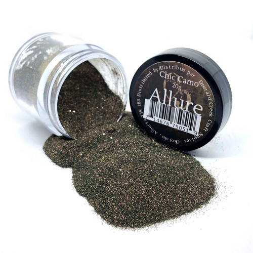 Chic Camo Embossing Powder