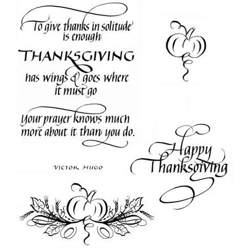 Quietfire To Give Thanks - Set of 4