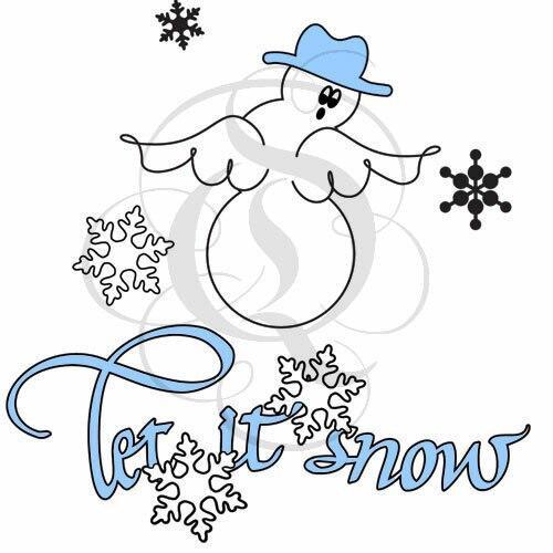 Quietfire Let It Snow Snowman - Set of 5