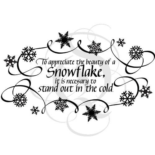 Quietfire To Appreciate the Beauty of a Snowflake - Set of 3