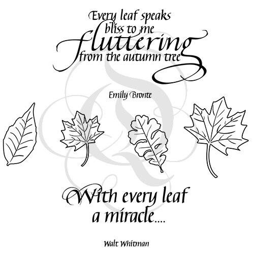 Quietfire Leaves - Set of 6