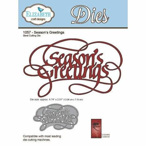 Quietfire Seasons Greetings - Thinlit Die