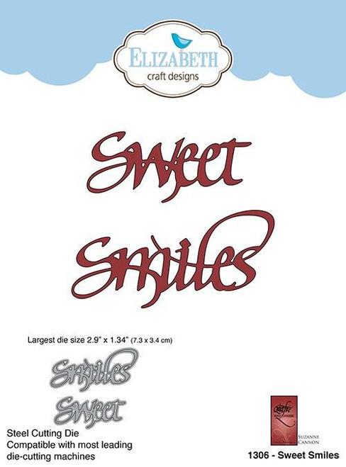 Quietfire Sweet Smiles - Thinlit Die