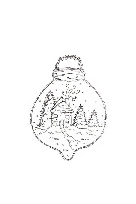 Pam Bray Designs Winter Wonderland Christmas Ornament - Pam Bray