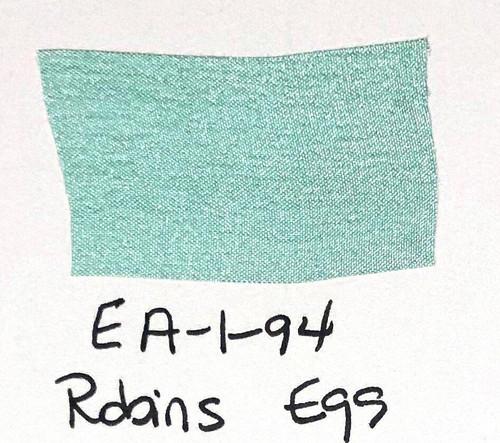 Pam Bray Designs Pams Picks - 1 Wrinkled Faux Silk Ribbon - Robins Egg