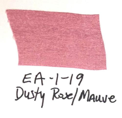 Pam Bray Designs Pams Picks - 1 Wrinkled Faux Silk Ribbon - Dusty Rose/Mauve