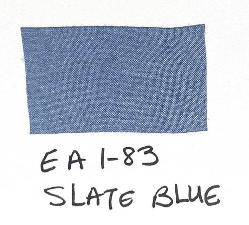 Pam Bray Designs Pams Picks - 1 Wrinkled Faux Silk Ribbon - Slate Blue