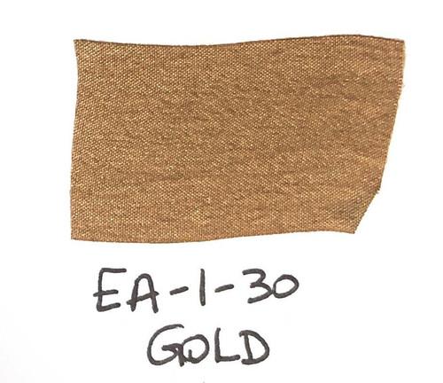 Pam Bray Designs Pams Picks - 1 Wrinkled Faux Silk Ribbon - Gold