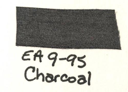 Pam Bray Designs Pams Picks - 1/2 Wrinkled Faux Silk Ribbon - Charcoal