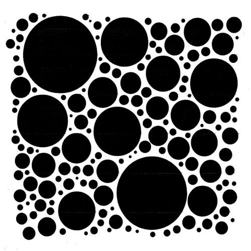 Pam Bray Designs Spinning Circle Stencil - Pam Bray