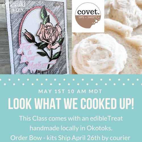 Emerald Creek Cards and Cookies - Class May 1st