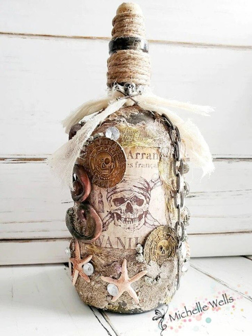 Auction - Michelle Wells Bottle