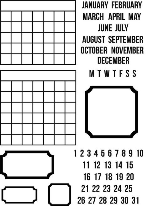 Sarah Hurley Calendar Bits by Sarah Hurley
