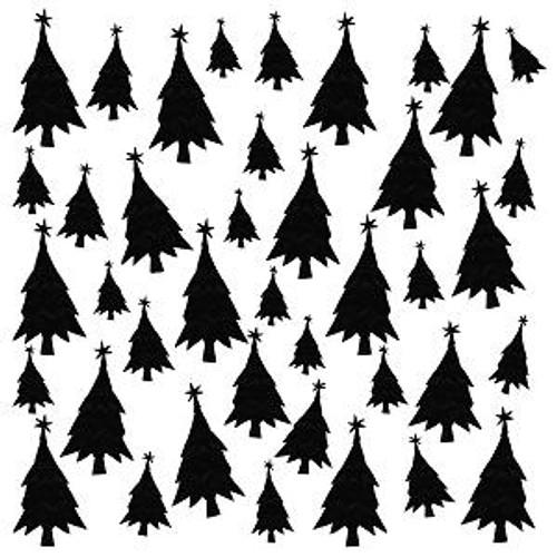 Pam Bray Designs Christmas Trees Stencil - Pam Bray