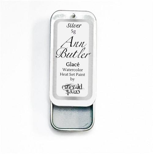 Ann Butler Designs Glace Silver - Heatset Watercolours by Ann Butler