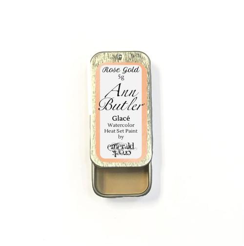 Ann Butler Designs Glace Rose Gold - Heatset Watercolours by Ann Butler