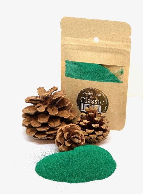 Candy Green Embossing Powder