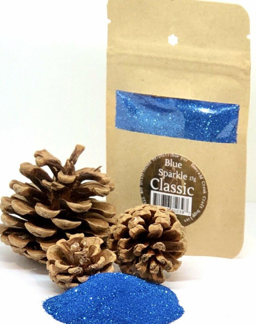 Blue Sparkle Embossing Powder