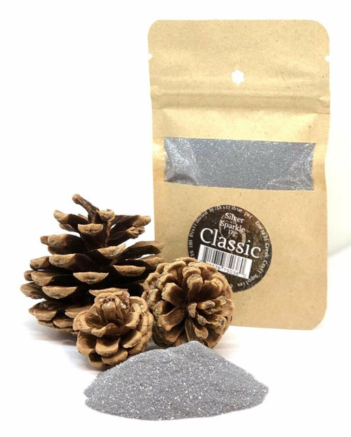 Silver Sparkle Embossing Powder
