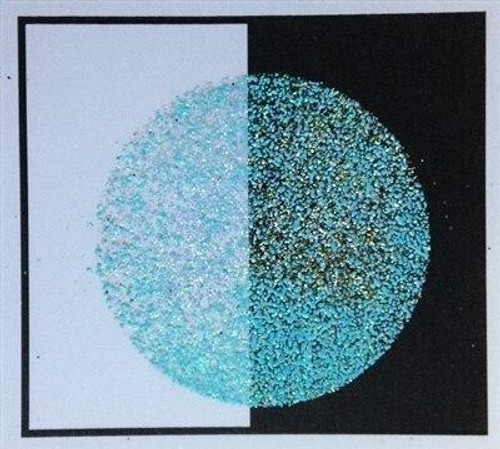 Turquoise Sparkle Embossing Powder