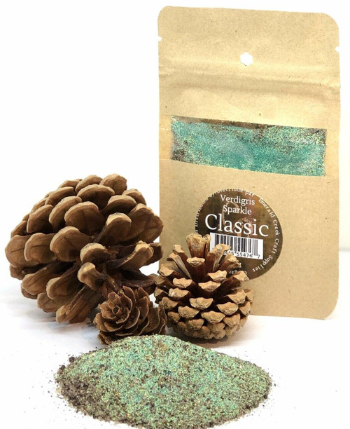 Verdigris Sparkle Embossing Powder