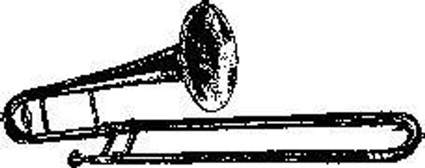 Trombone - Cling Mount
