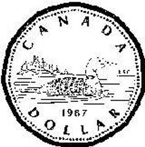 Emerald Creek Canadian Loonie - Cling Mount