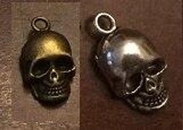 Skull Charm 6/pkg