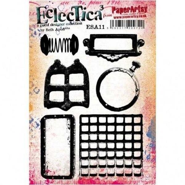 PaperArtsy - Seth Apter Eclectica3 - Stamp Set 11