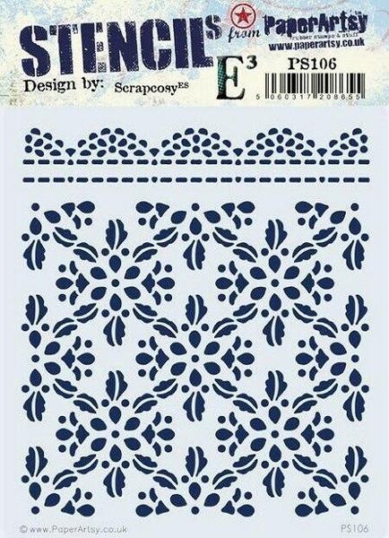 PaperArtsy - Stencil 106 - Scrapcosy