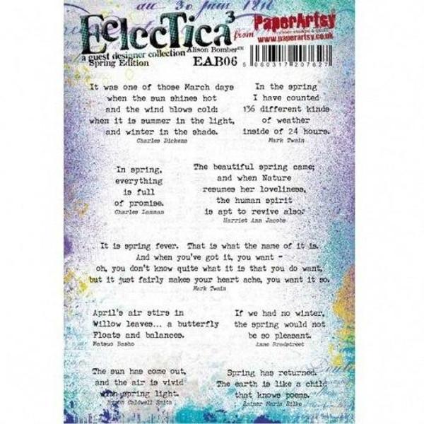 PaperArtsy - Eclectica3 Alison Bomber 06 Spring Edition