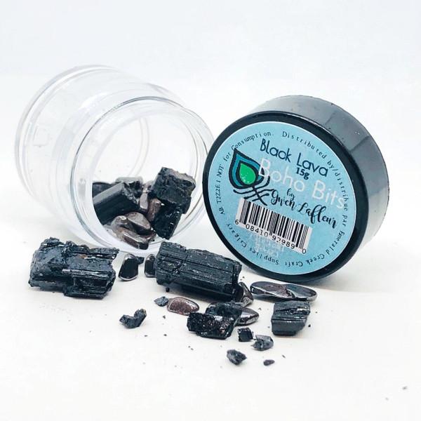 gwen lafleur Boho Bits - Black Lava