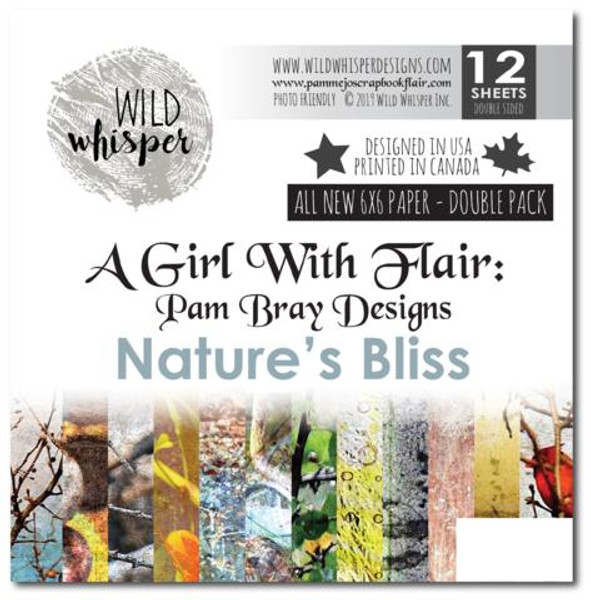 Pam Bray - Natures Bliss 6x6 Double Paper Pack