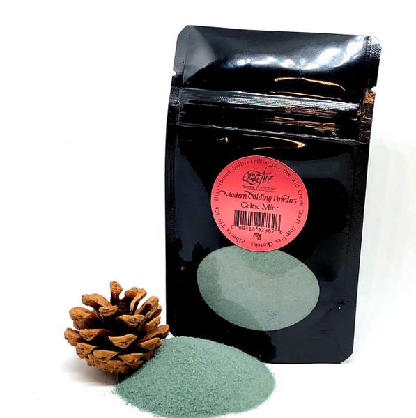 Quietfire Modern Gilding Powders - Celtic Mint