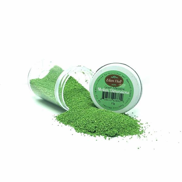 eileen hull designs Molten Dimension - Green Meadow