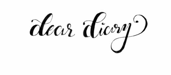 nicole wright designs Dear Diary