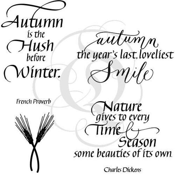 Quietfire Autumn Collection