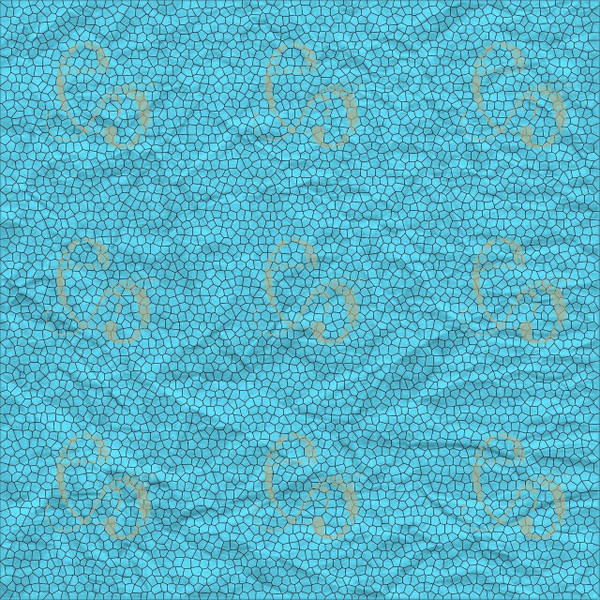 Pam Bray Designs Teal Crinkle Abstract Paper - Pam Bray 2020
