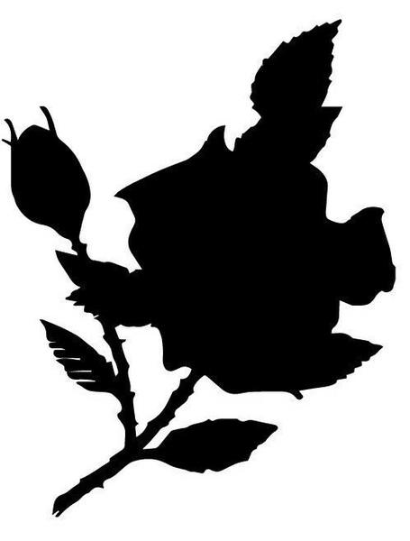 Emerald Creek Rose - Cut File