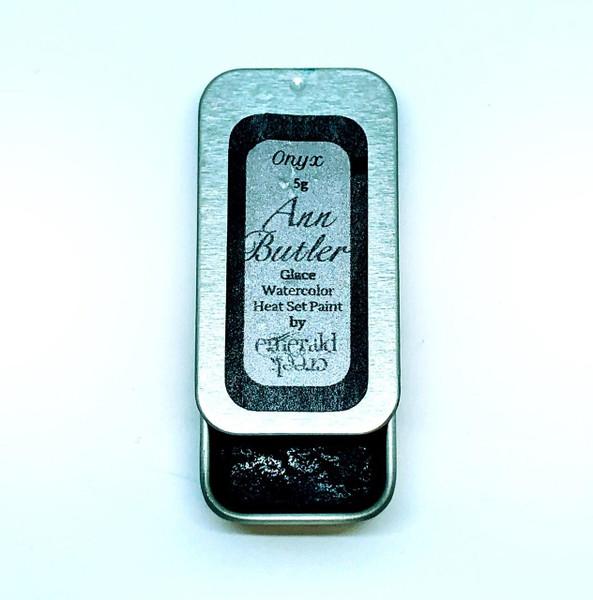 Ann Butler Designs Glace Onyx - Heatset Watercolours by Ann Butler