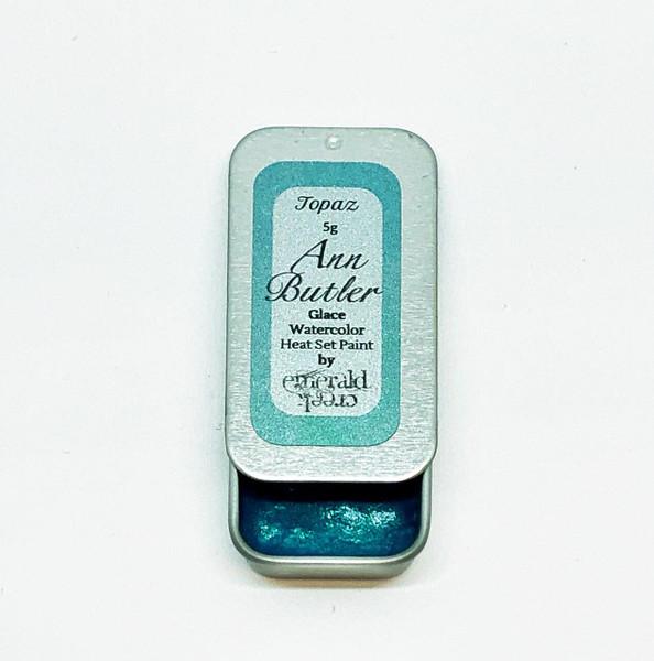 Ann Butler Designs Glace Topaz - Heatset Watercolours by Ann Butler