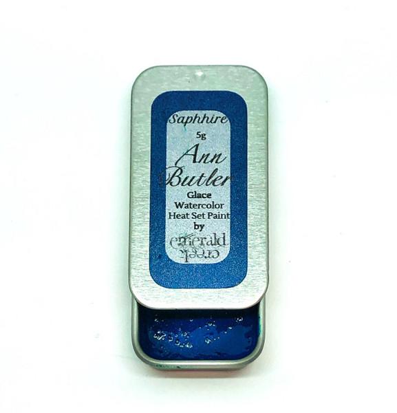 Ann Butler Designs Glace Sapphire - Heatset Watercolours by Ann Butler