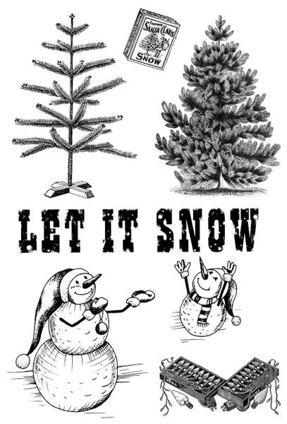 Betsy Skagen Snowmans Holiday