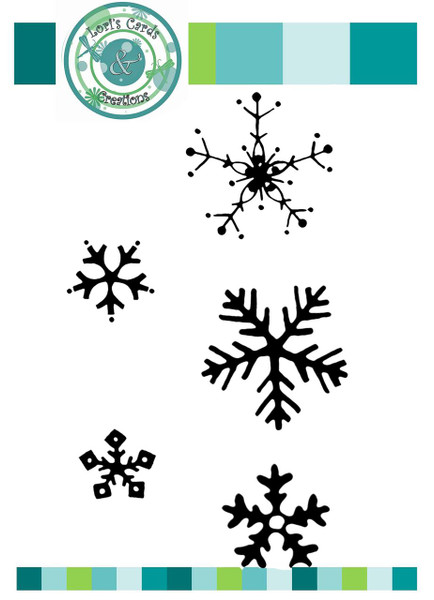 Loris Cards and Creations Snow Set