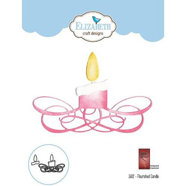 Quietfire Flourished Candle - Thinlit Die