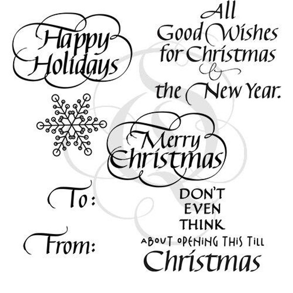 Quietfire Christmas Sweet and Sassy - Set of 6