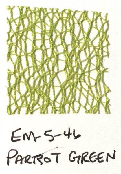 Pam Bray Designs Pams Picks - 1 1/2 Net Web Ribbon - Parrot Green