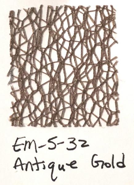 Pam Bray Designs Pams Picks - 1 1/2 Net Web Ribbon - Antique Gold