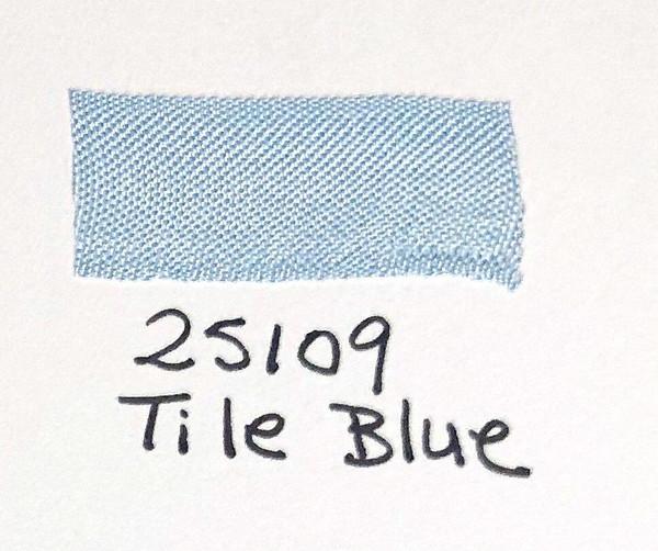 Pam Bray Designs Pams Picks - 5/8 Seam Binding Ribbon - Tile Blue